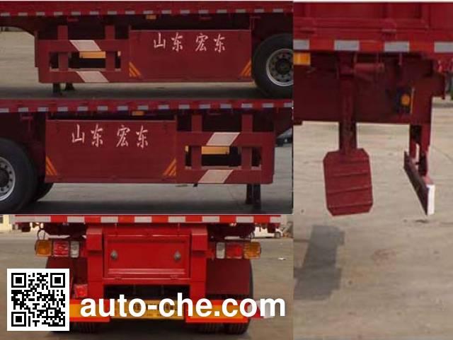 新宏东牌LHD9400Z自卸半挂车