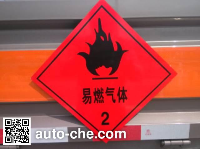 Zhengyuan LHG5040TQP-FT01 gas cylinder transport truck