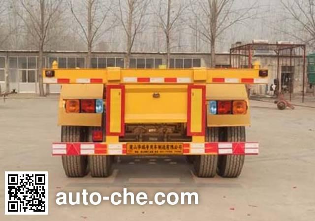 瑞傲牌LHR9400TJZ集装箱运输半挂车