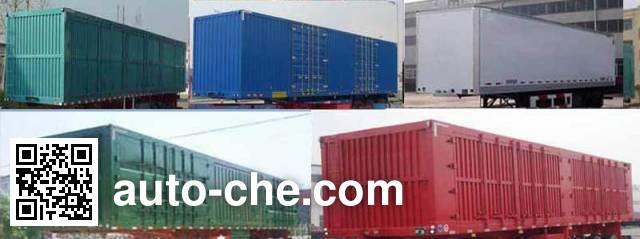 Ruiao LHR9400XXY box body van trailer