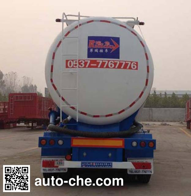 Ruiao LHR9402GFL low-density bulk powder transport trailer