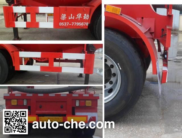 Huasheng Shunxiang LHS9400GFL medium density bulk powder transport trailer