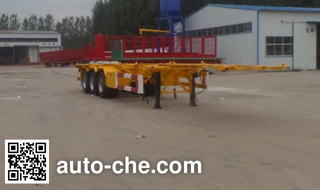 Huasheng Shunxiang LHS9400TJZ container transport trailer