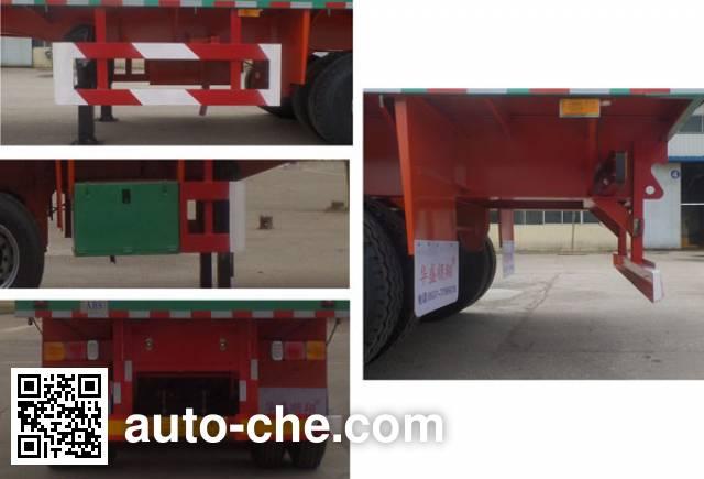 Huasheng Shunxiang LHS9400TPB flatbed trailer