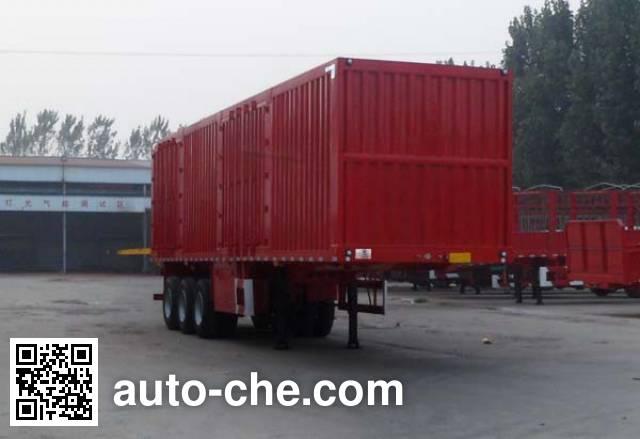 Huasheng Shunxiang LHS9400XXY box body van trailer