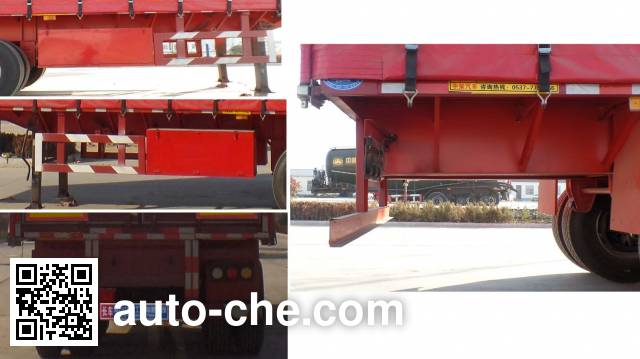 Huasheng Shunxiang LHS9400XXYC box body van trailer
