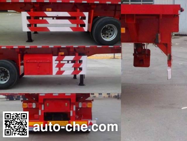 华盛顺翔牌LHS9401ZZXP平板自卸半挂车