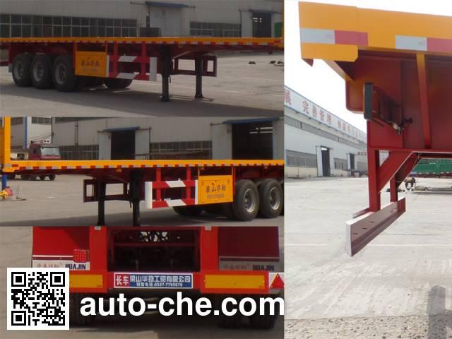 Huasheng Shunxiang LHS9402TPB flatbed trailer