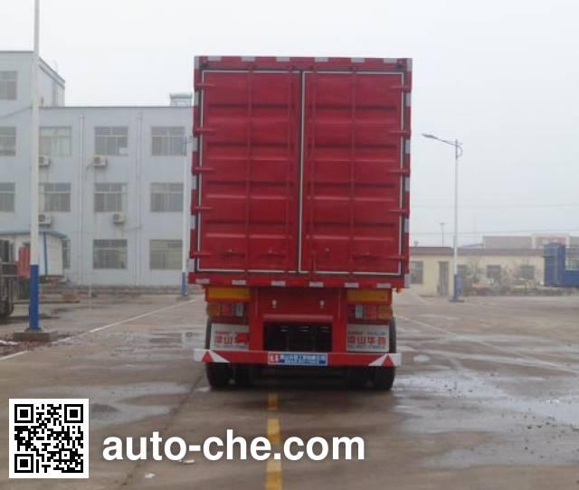 Huasheng Shunxiang LHS9402XXY box body van trailer