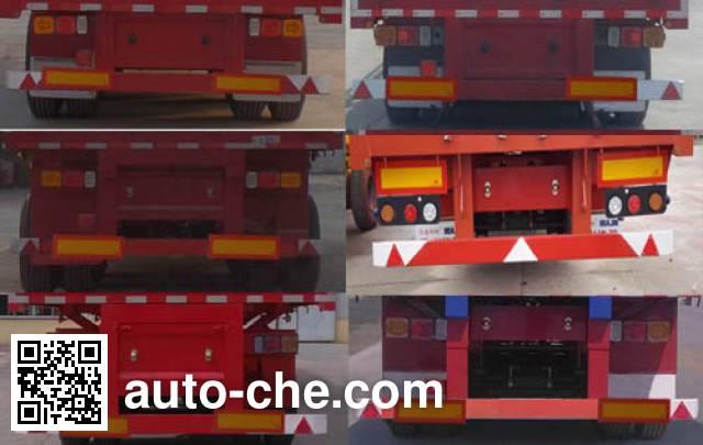 Huasheng Shunxiang LHS9402ZZXP flatbed dump trailer