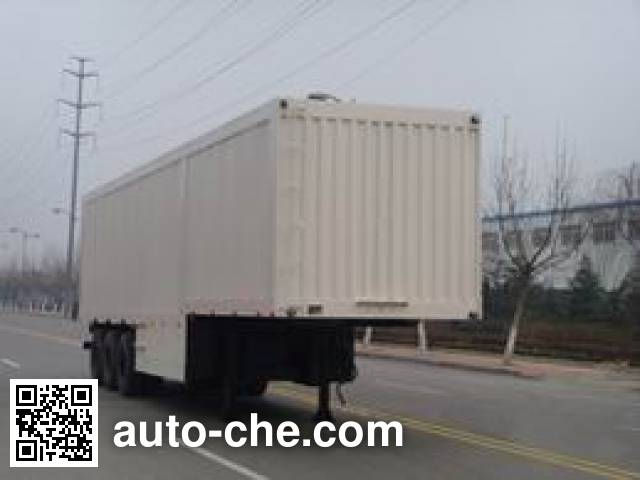 Taicheng LHT9380XXY box body van trailer