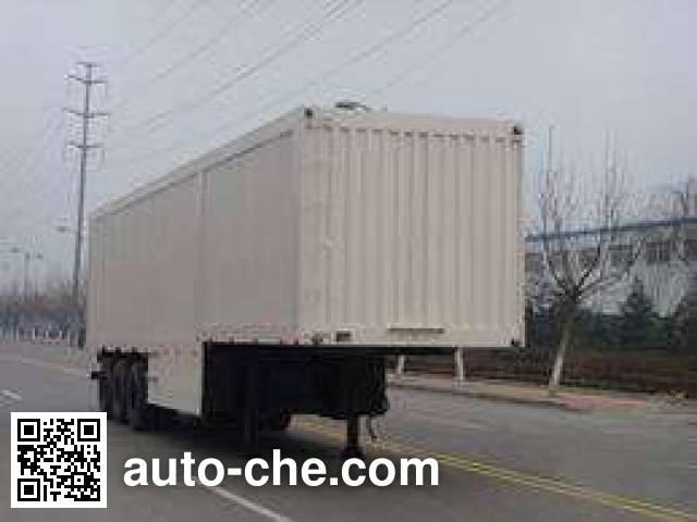 Taicheng LHT9280XXY box body van trailer