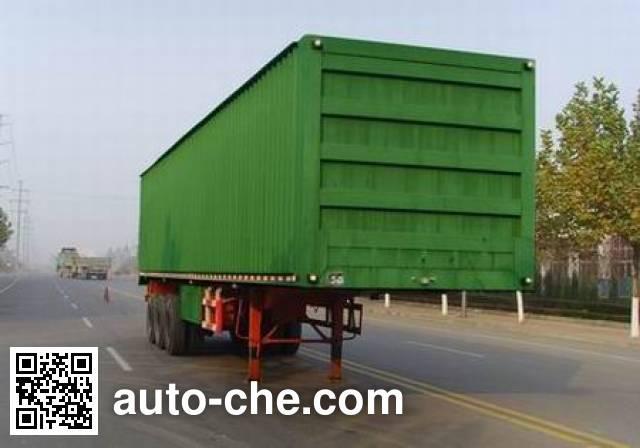Taicheng LHT9351XXY box body van trailer