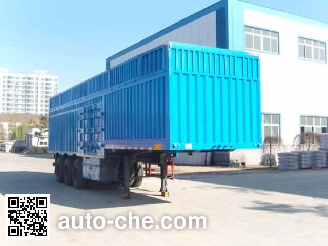 Taicheng LHT9381XXY box body van trailer