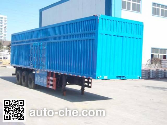 Taicheng LHT9390XXY box body van trailer