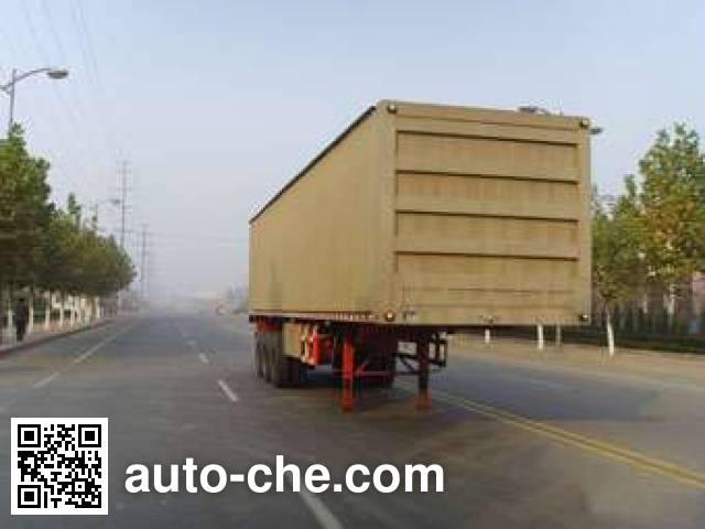 Taicheng LHT9400XXY box body van trailer