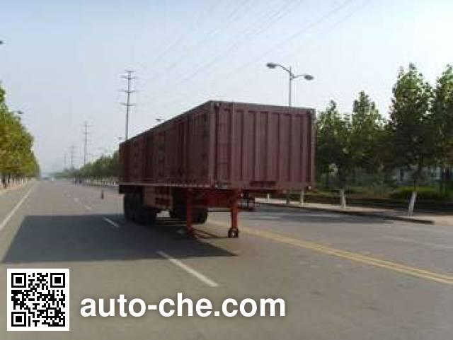 Taicheng LHT9401XXY box body van trailer