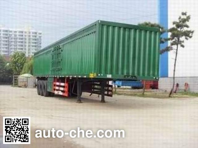 Taicheng LHT9402XXY box body van trailer