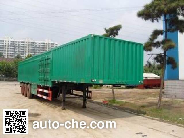 Taicheng LHT9403XXY box body van trailer