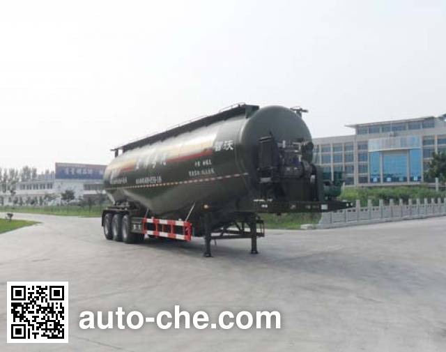 Zhiwo LHW9400GFL low-density bulk powder transport trailer