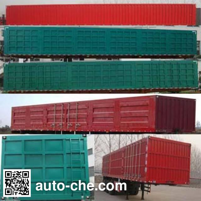 Zhiwo LHW9400XXY box body van trailer