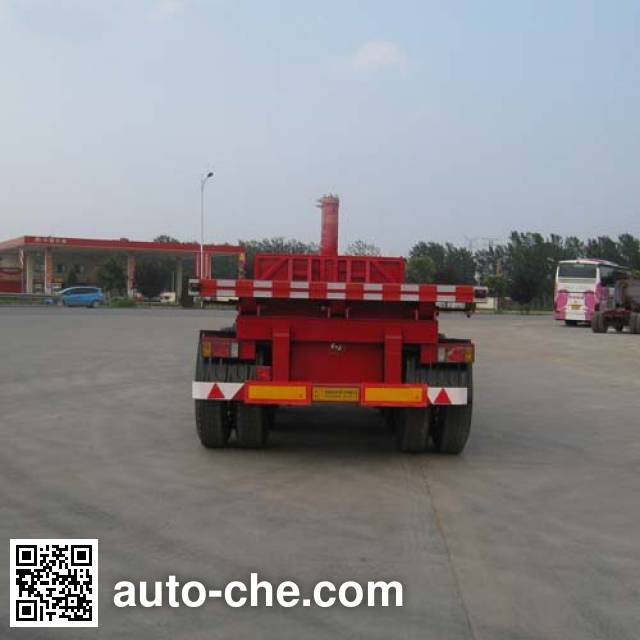 Zhiwo LHW9401ZZXP flatbed dump trailer