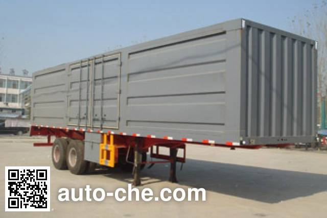 Luyue LHX9301XXY box body van trailer