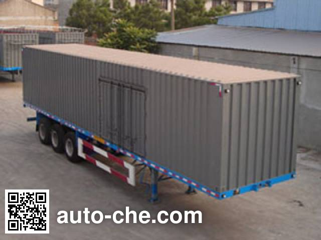 Luyue LHX9330XXY box body van trailer