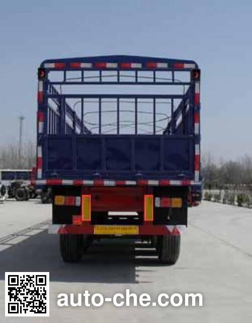 鲁岳牌LHX9400CCY仓栅式运输半挂车