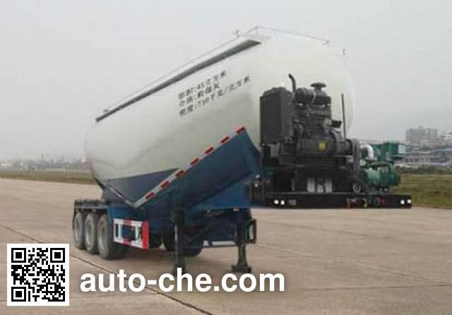 鲁岳牌LHX9400GFL中密度粉粒物料运输半挂车