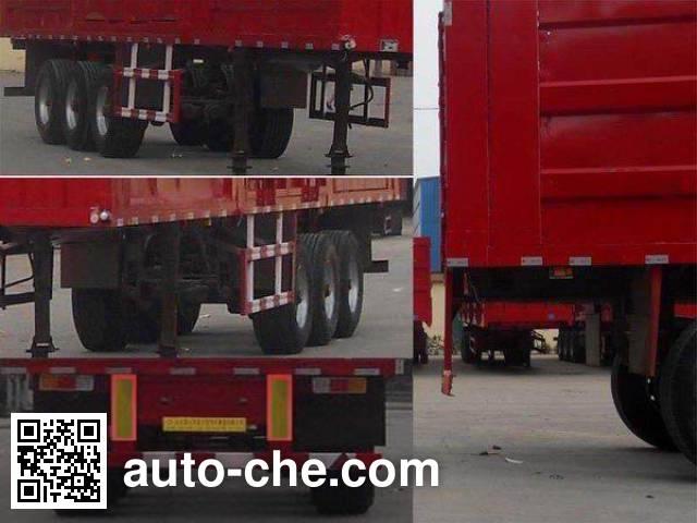 Luyue LHX9400XXYD box body van trailer
