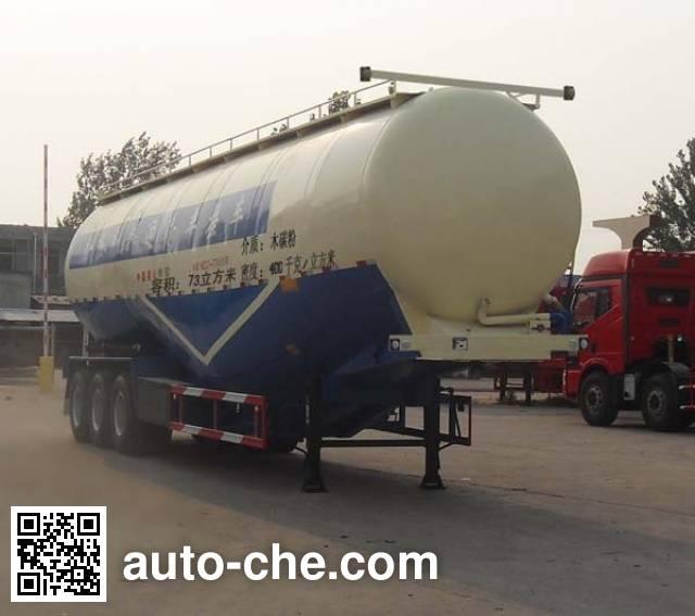 鲁岳牌LHX9401GFL低密度粉粒物料运输半挂车