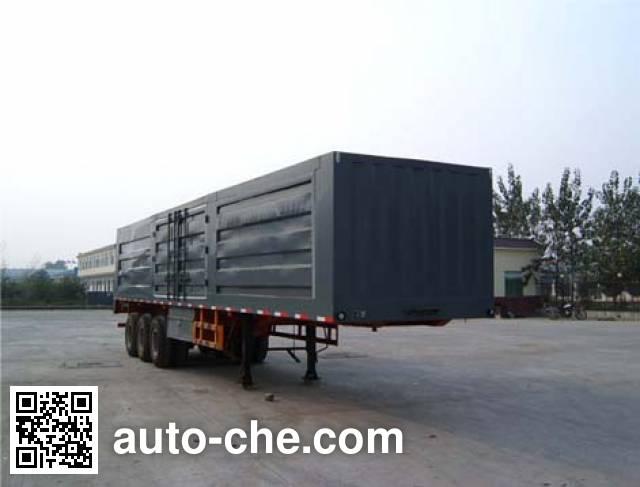 Luyue LHX9402XXY box body van trailer