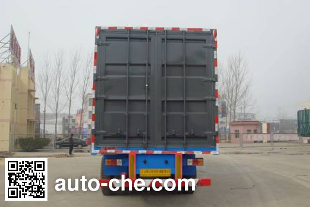 Luyue LHX9403XXY box body van trailer