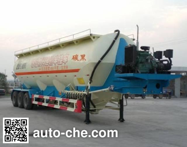华宇达牌LHY9340GFL粉粒物料运输半挂车