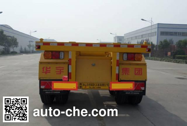 华宇达牌LHY9351TJZ集装箱运输半挂车