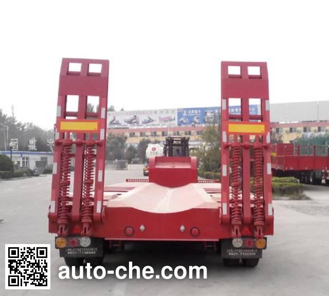 华宇达牌LHY9371TDPA低平板半挂车