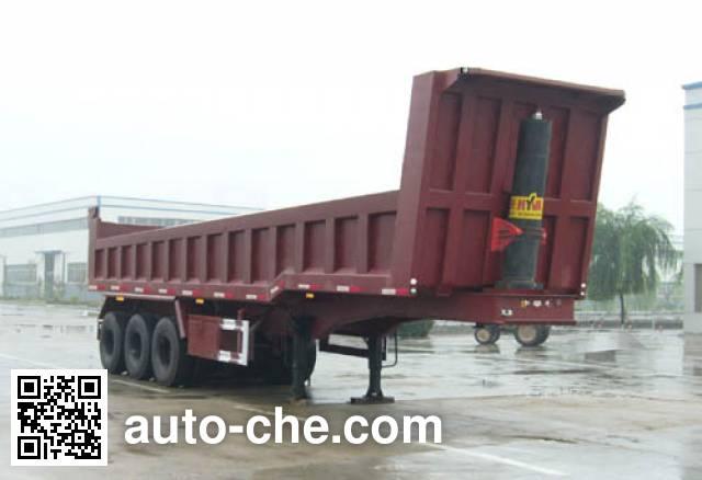 华宇达牌LHY9400ZZX自卸半挂车