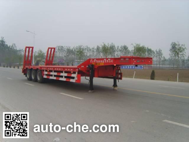 华宇达牌LHY9401TDPA低平板半挂车