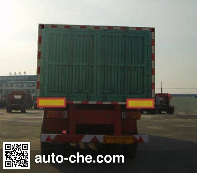 Huayuda LHY9403XXY box body van trailer