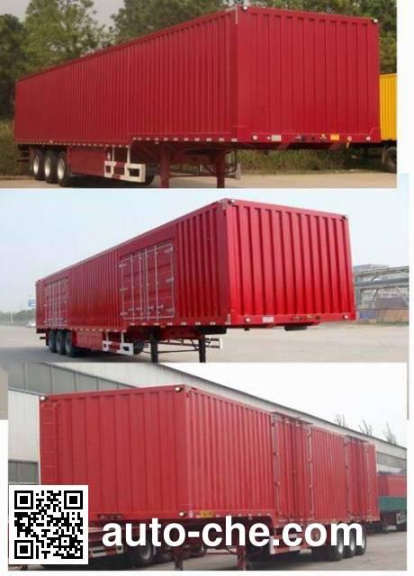 Huayuda LHY9407XXY box body van trailer