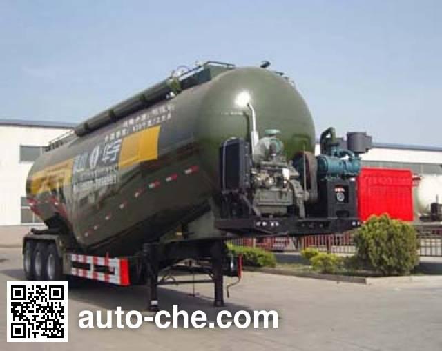 华宇达牌LHY9406GFLB低密度粉粒物料运输半挂车