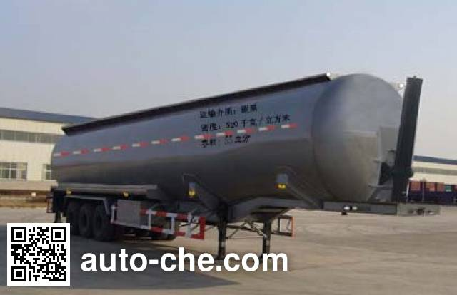 Huayuda LHY9408AGFL low-density bulk powder transport trailer