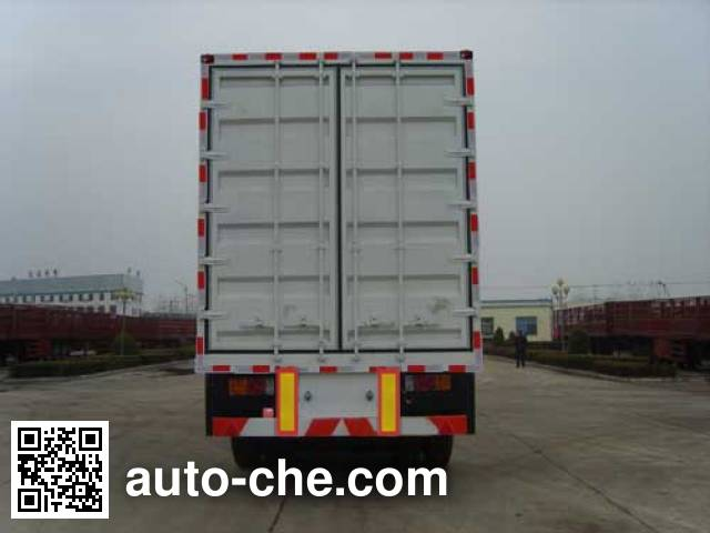 Huayuda LHY9408XXY box body van trailer