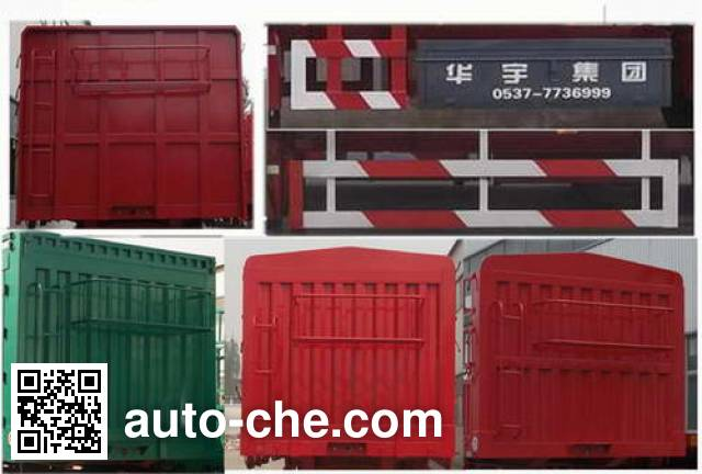 Huayuda LHY9409CLXY stake trailer