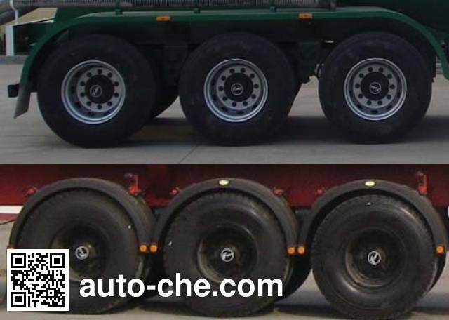Huayuda LHY9407GFLB low-density bulk powder transport trailer