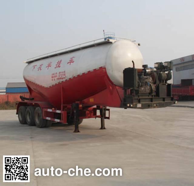 Hualiang Tianhong LJN9401GXH ash transport trailer