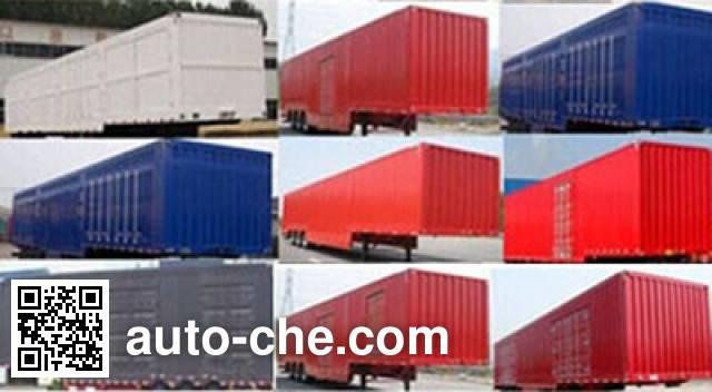 Hualiang Tianhong LJN9400XXYE box body van trailer
