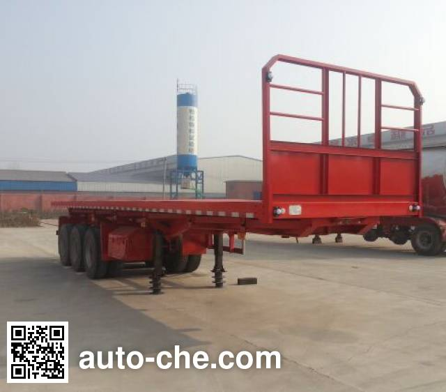 Hualiang Tianhong LJN9404ZZXP flatbed dump trailer