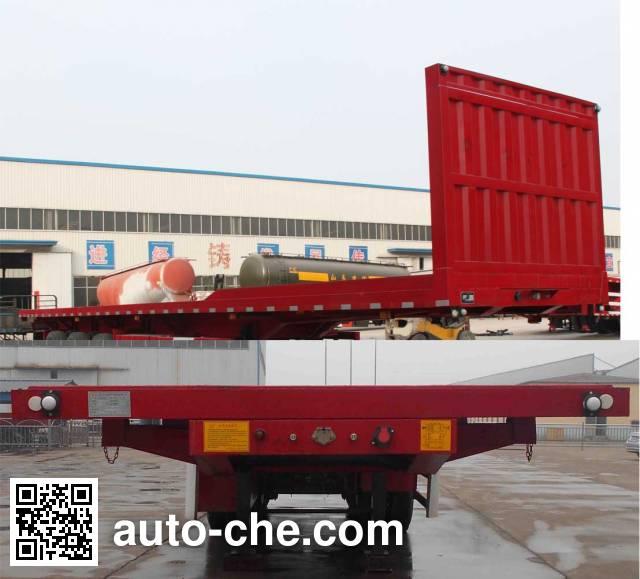 Hualiang Tianhong LJN9405ZZXP flatbed dump trailer